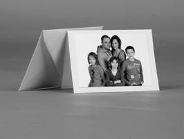 Grußkarte mit Familienfoto
