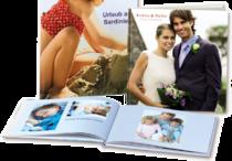 Fotobücher in verschiedenen Formaten und Seitenzahlen