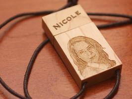 USB Stick mit Gravur